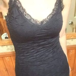 2 for 20$ Black Lace Trimmed Top